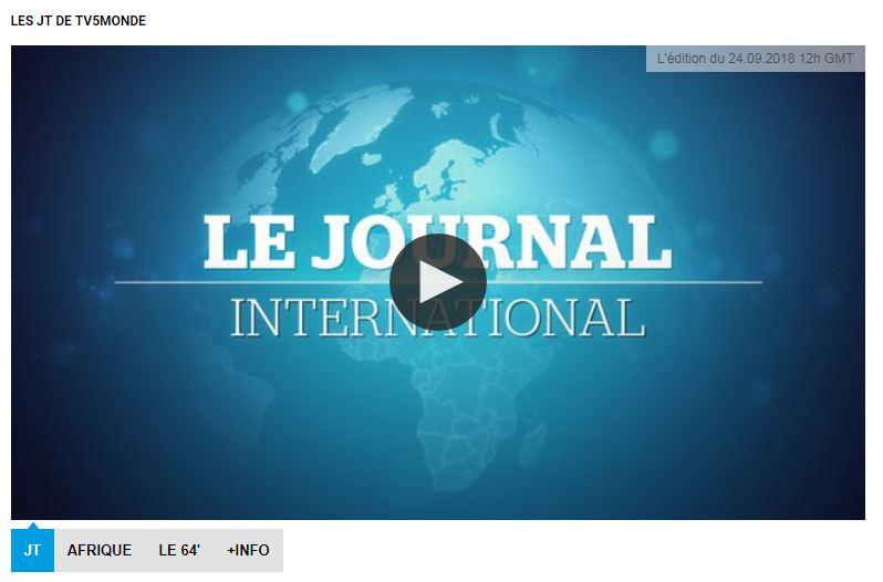 Chương trình le journal international trên tv5