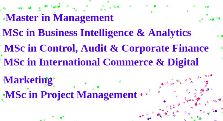 Master Quản lý, Kiểm toán, Marketing, Logistic bằng tiếng Anh